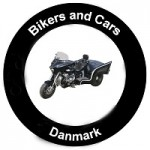 Bikers and cars